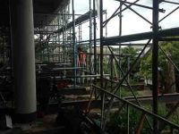 Construction Scaffolding - St Peter's College, Auckland