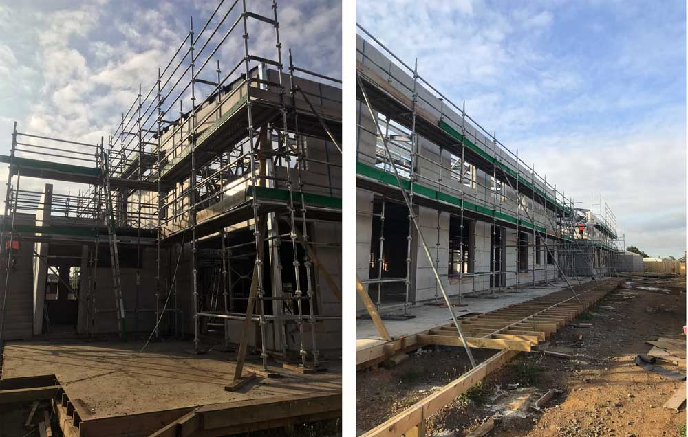 all scaffolding building extension scaffold