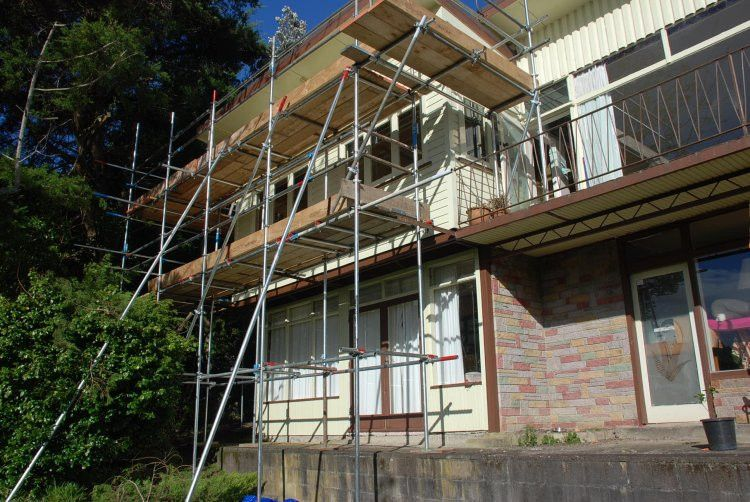 Scaffolding for home alterations
