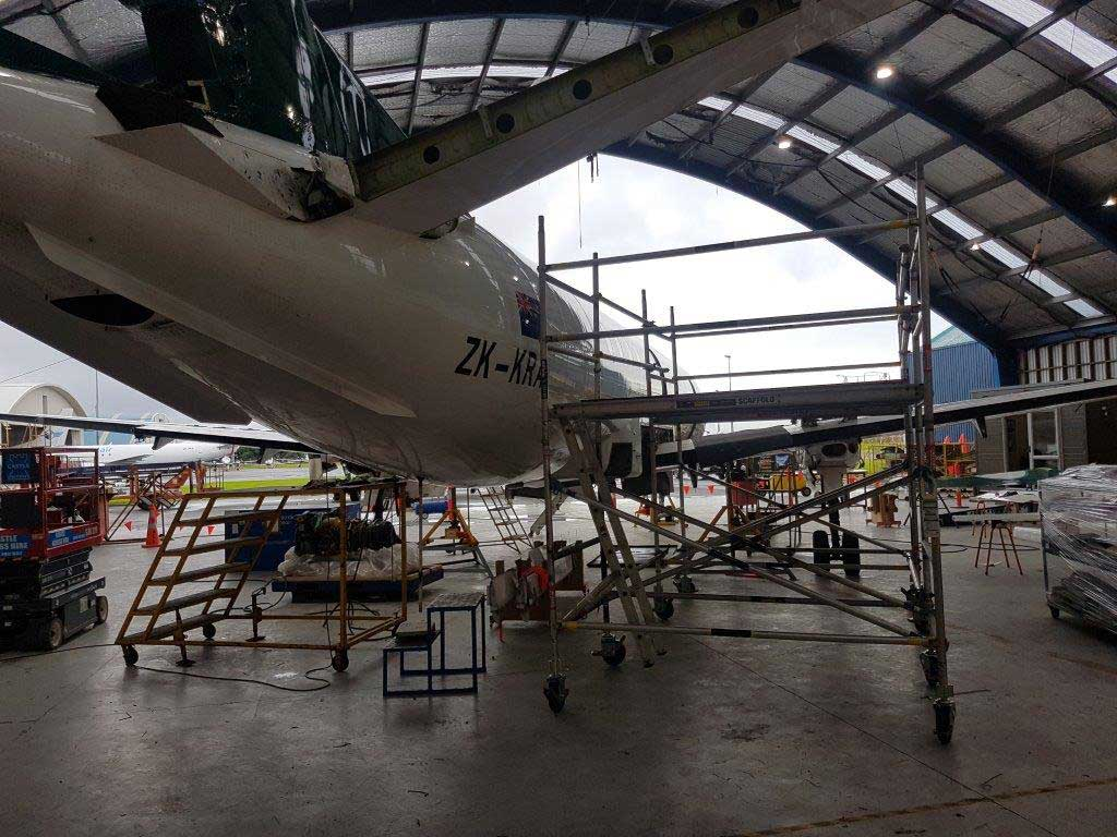 all scaffolding aircraft maintenance