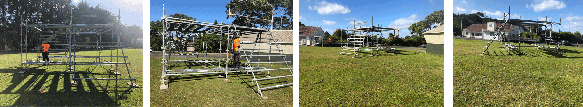 all scaffolding scout jamboree auckland