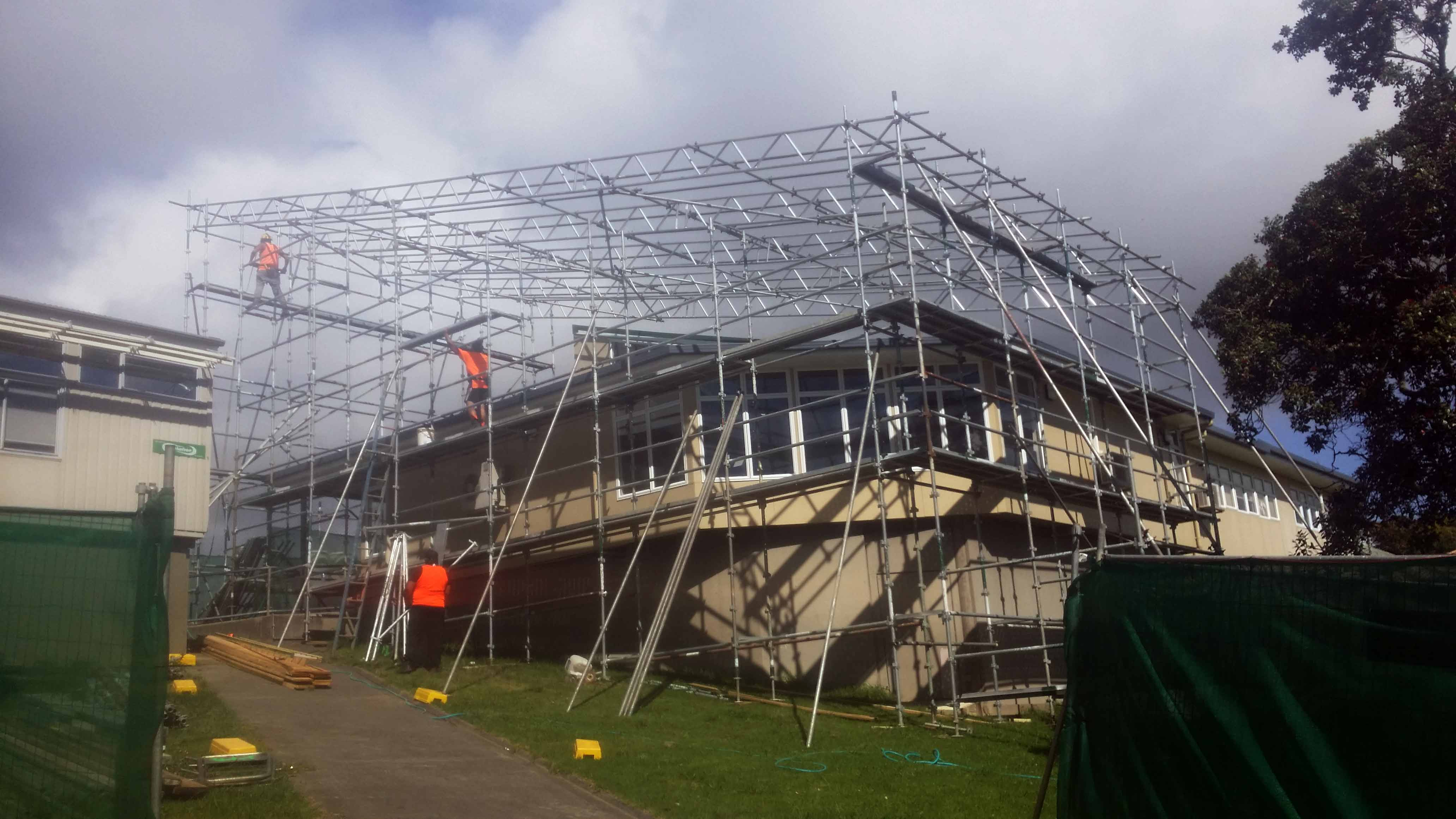 all scaffolding torbay shrink wrap